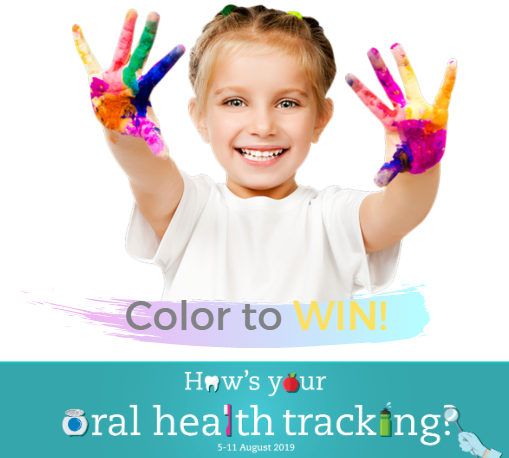 Dental Health Week 2019 - Color to WIN!