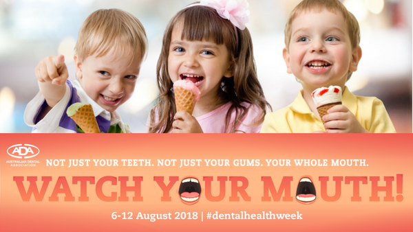 Diet & Oral Health - Dental Health Week 2018