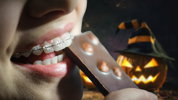 Halloween, Candy, And Your Braces